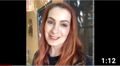Felicia Day Shouts Out to Concellation